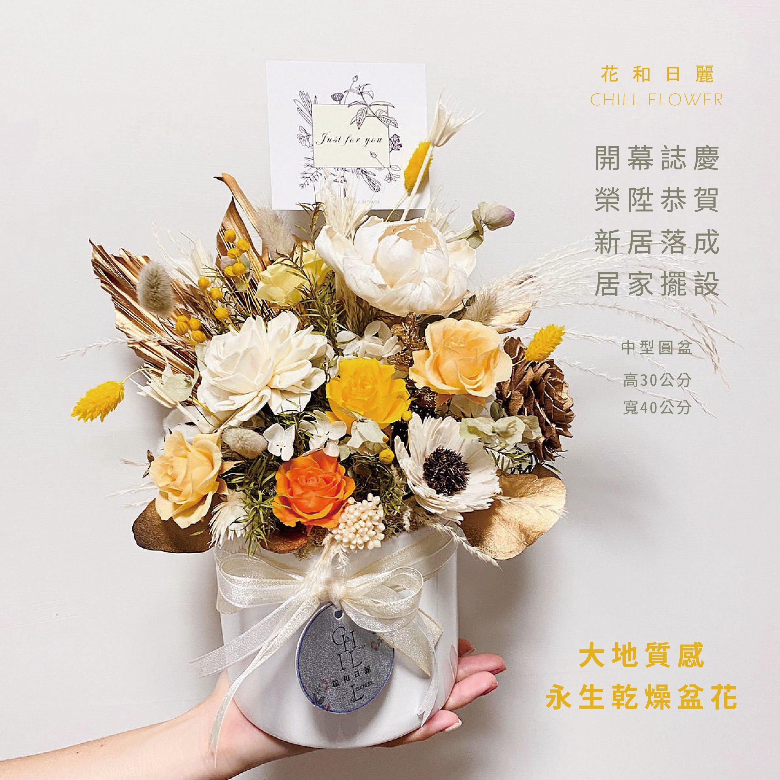 開幕誌慶盆花